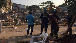 Kolombiya'da ruhsatsız bina çöktü: 17 ölü