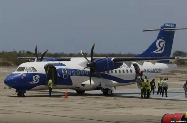 Küba'da askeri uçak düştü: 8 ölü