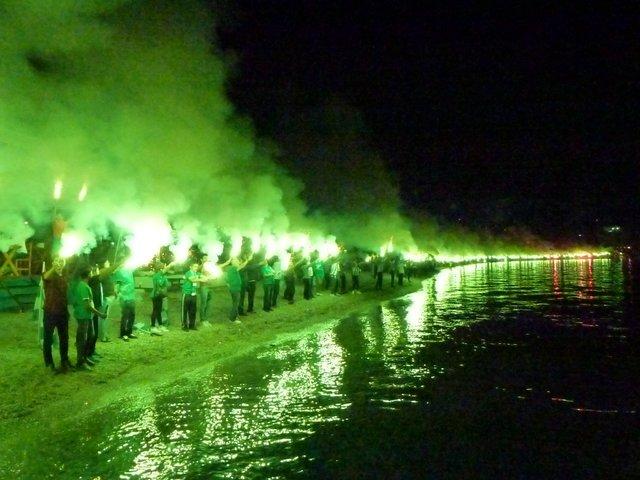 Bodrum Belediyesi Bodrumspor'dan görkemli kutlama!