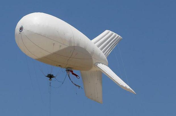 Sınır güvenliğinde 'balonlu' dönem ekim ayında başlıyor