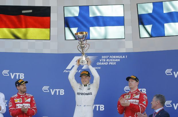 Valtteri Bottas kariyerinin ilk zaferine ulaştı