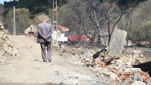 Çorum'daki köy yangını sonrası yaralar sarılıyor