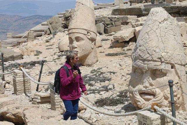 Nemrut Dağına yabancı turist akını