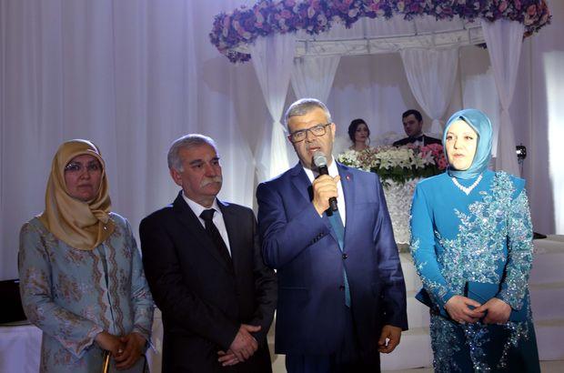 Başbakan Yardımcısı Kaynak'ın mutlu günü