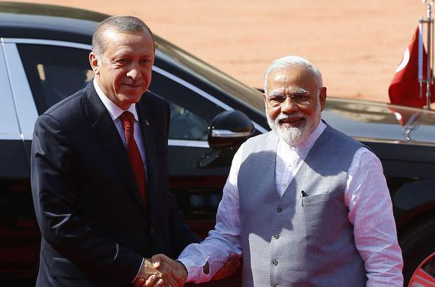 Cumhurbaşkanı Erdoğan: Hindistan'dan çok daha fazla turist bekliyoruz