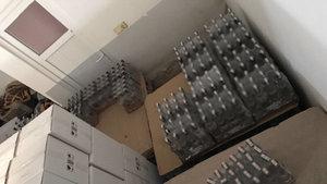 Antalya'da 14 bin 500 şişe sahte içki ele geçirdi