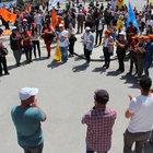 SİVAS'TA 540 POLİS GÖREV YAPTI, 300 KİŞİ KATILDI