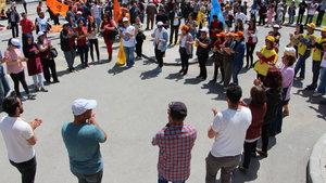 Sivas'ta 1 Mayıs kutlamalarında 540 polis görev yaptı, 300 kişi katıldı