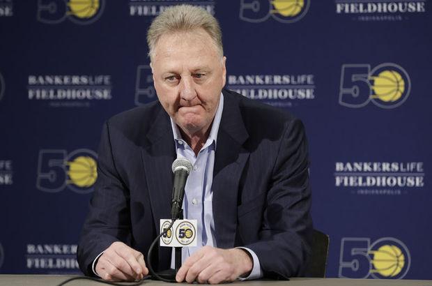 Bird, Pacers'ın basketbol operasyonları başkanlığından ayrıldı