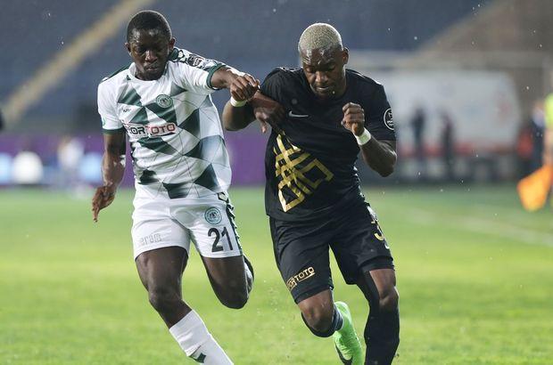 Osmanlıspor: 0 - Konyaspor: 0 (MAÇ SONUCU)