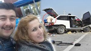 Konya'da nişanlı çifti trafik kazası ayırdı