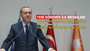 Cumhurbaşkanı Erdoğan: Bu partiye sırtını dönen kimse iflah olmadı