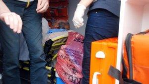 Tokat'ta iş makinesine kolunu kaptıran işçinin sol kolu omzundan koptu