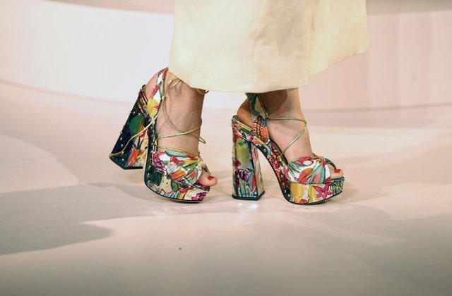 2017 ilkbahar/yaz ayakkabı modası