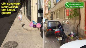 Mahallelinin çöp isyanı