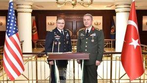 Akar ile ABD'li generalin görüşmesinde neler konuşuldu?