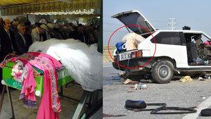 Konya'da kazada ölen Sevim Ergüner toprağa verildi