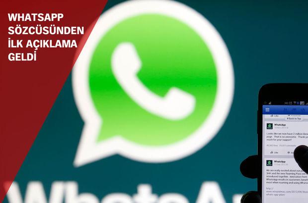 WhatsApp'a erişim sorunu düzeldi!