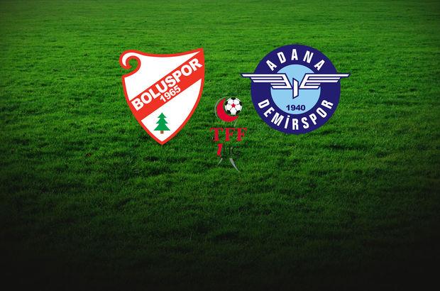 Boluspor Süper Lig yolunda Adana Demirspor'u ağırlıyor