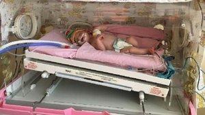 Çorum'da sokağa terk edilen bebek evlatlık verildi