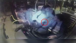 Tekirdağ'da otobüse binen kadın, şoförü bıçakladı