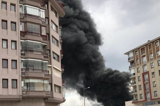 Isparta'da büyük yangın