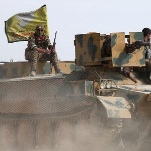 ABD'DEN YPG'YE YENİ ASKERİ DESTEK!