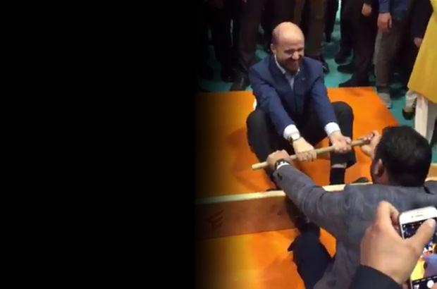 Bilal Erdoğan ve Yerlikaya'nın 'mas' güreşi!