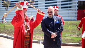 2. Abdülhamid'in torunu Orhan Osmanoğlu'na mehteranlı karşılama