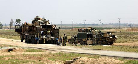 Suriye sınırında hareketlilik! Mevzilere tanklar yerleştirildi