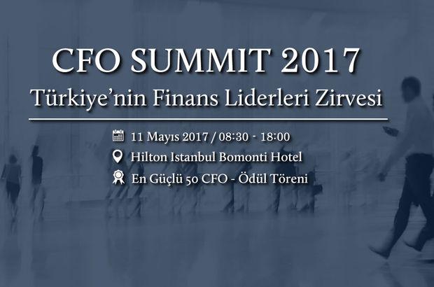Türkiye'nin En Etkin 50 Finans Yöneticisi, Türkiye'nin En Etkin 50 Finans Yöneticisi Ödülleri, CFO Summit 2017