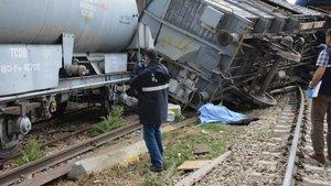 Kırıkkale'de tren kazası: 1 ölü, 3 yaralı