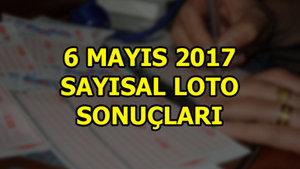 Sayısal Loto sonuçları (6 Mayıs 2017)