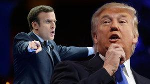 Yeni Cumhurbaşkanı Emmanuel Macron, Trump'tan daha fazla yetkiye sahip