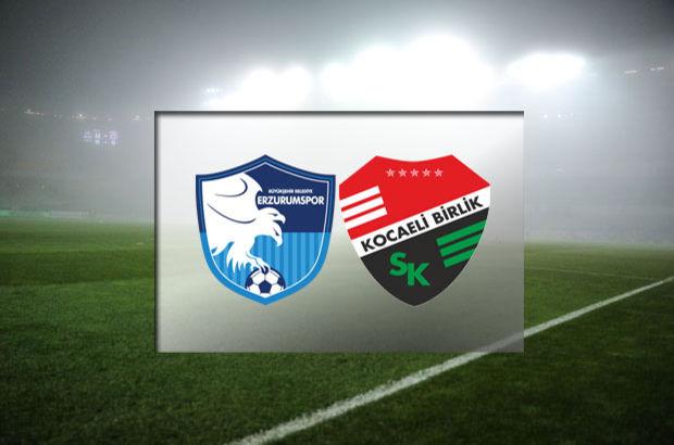 BB Erzurumspor - Kocaeli Birlikspor