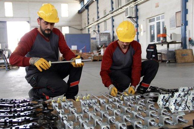 'Ejder Yalçın' zırhlısının 400 parçası Sivas'ta üretiliyor