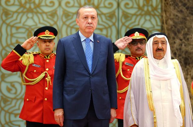 Erdoğan, Kuveyt'te temel attı