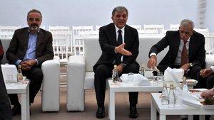 Ahmet Türk ve Sırrı Sakık'tan Abdullah Gül'e taziye ziyareti