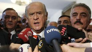 Devlet Bahçeli'den İbrahim Erkal açıklaması