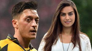 Amine Gülşe morali bozulunca Mesut Özil'in yanına gitti