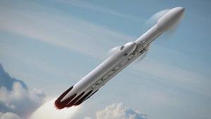 SpaceX, Mars'a gidecek Falcon Heavy roketini test etti