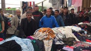 Sakarya'da semt pazarında kavga