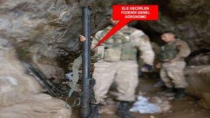 İçişleri: Şırnak'taki operasyonda Rus menşeli füze ele geçirildi