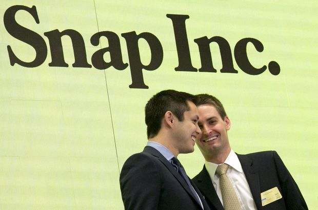 Snapchat CEO'su Facebook'u trolledi