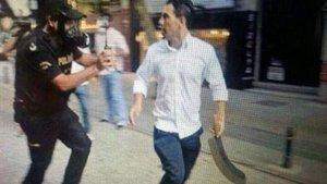 Gezi Parkı olaylarındaki 'palalı saldırgan' Sabri Çelebi'ye 3 yıl hapis cezası!