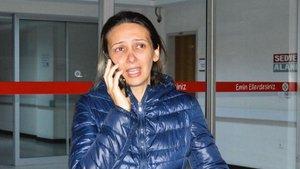 Manisa'daki hamile kadına darp davası ertelendi