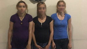 Zonguldak'ta hırsızlık şüphelisi 2'si hamile 3 kadına gözaltı