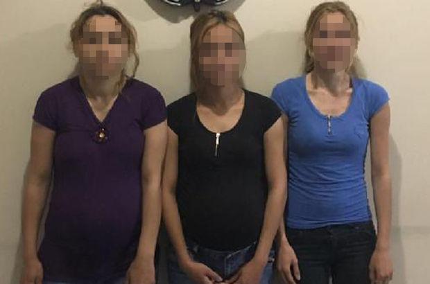 Polis hareketlerinden şüphelendi, 2'si hamile 3 kadın yakalandı!