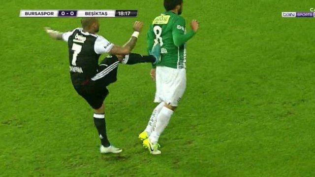Quaresma'nın Bursaspor maçında yaptığı hareketler