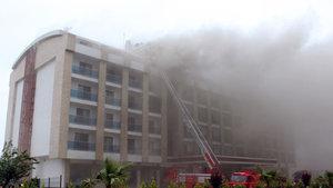 Ordu'da otel yangını